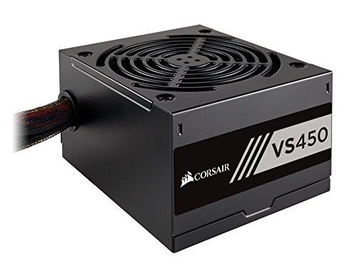 CORSAIR VS Series, VS450, 450 Watt, 80+ White Certified, Non-Modular Power Supply