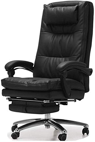 Lowest Prices! RUIMA Office Leather Chair Computer Chair Boss Chair Ergonomic Lounge Chair Home Swiv...