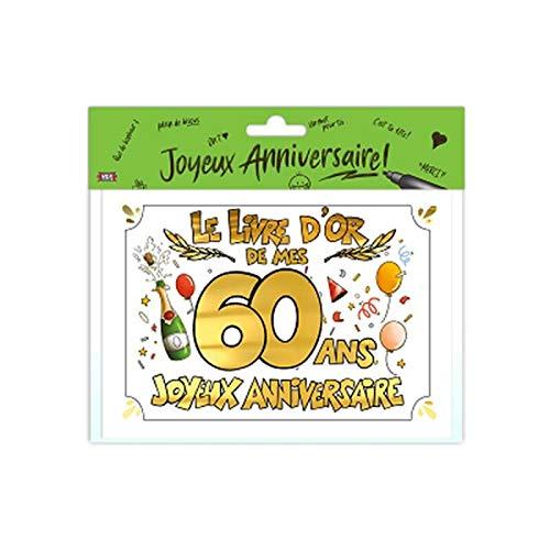 Livre d'or 60 ans