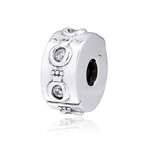 BAKCCI 2019 jesień błyszcząca korona O klips koralik srebro próby 925 DIY pasuje do oryginalnych bransoletek Pandora charm modna biżuteria