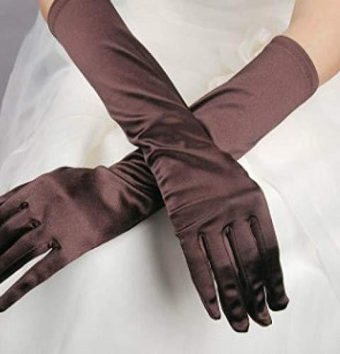 GBSTA Huwelijkshandschoenen ivoor bruidsaccessoires handschoenen voor bruid jurk bruiloft vrouwen wit en rood roze goud zwart blauw vlechtwerk BRON