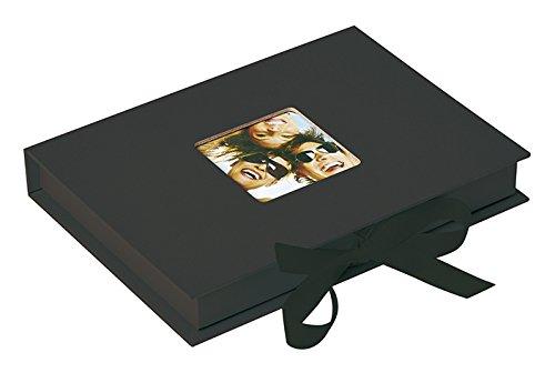 Walther Design Foto-Geschenkbox Fun, schwarz, für Fotos bis 13X18 cm