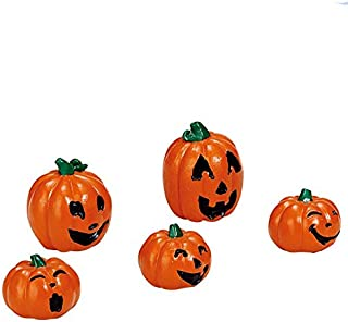 Lemax Spooky Town Happy Pumpkin Family, Set of 5 #74239