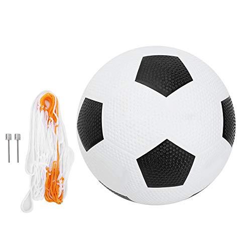 VGEBY Pallone da Calcio Pallone da Calcio in Gomma per Allenamento di Calcio Traditiona con ago per gonfiaggio