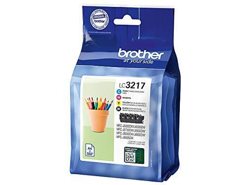 Brother - Juego de cartuchos de tinta originales para Brother MFC-J5330DW, MFC-J5335DW, MFC-J5730DW, MFC-J5930DW, MFC-J6530DW, MFC-J6930DW, MFC-J6935DW (incluye 100 hojas de papel de copia)