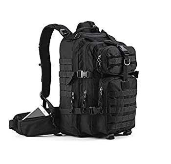 Gelindo Military Tactical Backpack Army Molle Bag Rucksack Assult Hiking Backpacks for Hunting Survival Camping