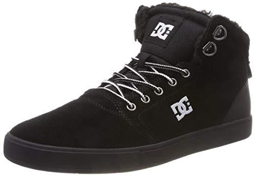 DC Shoes Herren Crisis HIGH Winter Skateboardschuhe, Schwarz (White/Black Bwb), 43 EU