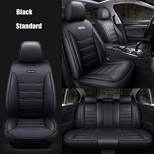 JYPZSH Coprisedile Auto Universale per Toyota Corolla Camry Rav4 Auris Prius Yalis Avensis SUV Accessori Auto-Nero
