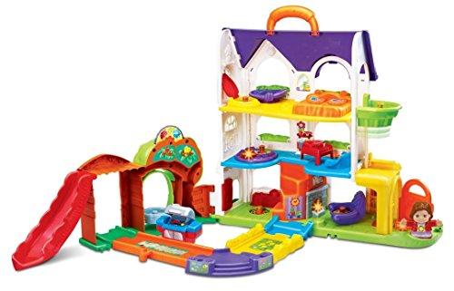 VTech Baby – Toot-Toot Friends – Busy Sounds Discovery Home – Kleine Entdeckerbande Spielhaus (Englische Sprache)