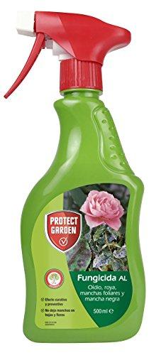 PROTECT GARDEN 280897863 Fungicida Sistémico Al de Amplio Espectro, Efecto Curativo Y Preventivo, 500Ml, Verde, 10 X 4 X 25 Cm
