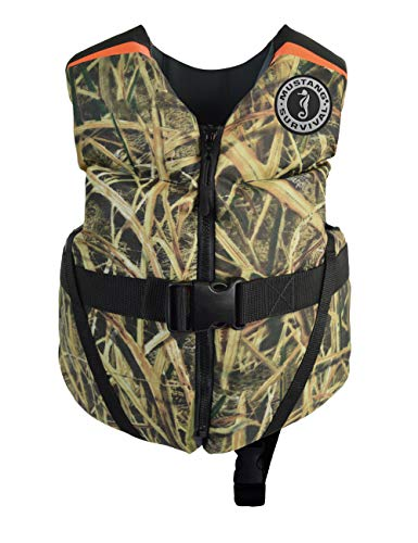 Mustang Survival - Child Foam Life Jacket - Camo, Child (33 lbs - 55 lbs)