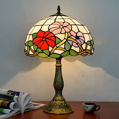 YINGGEXU Lámpara de Mesa WoerFU 30 cm lámpara de Mesa de aleación Europea luz de la luz de la luz de la Flor Creativa Retro lámpara de Mesa Decoración