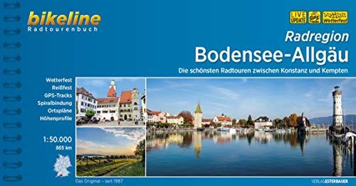 Bodensee-Allgäu: Die schönsten Radtouren zwischen Konstanz und Kempten 1:50.000, 865 km (Bikeline Radtourenbücher)