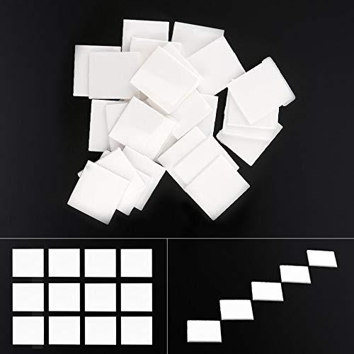 YINGDATETUI Reparatur-Werkzeug für Klavier 52pcs Cube Piano Zubehör Piano Keytop Reparierbar Teil mit weißer Farbe for Musikinstrumente Klavier
