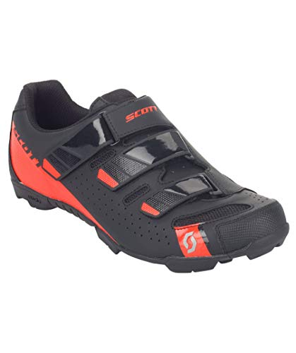 Scott 251834, Zapatillas MTB Comp RS ma bl/GL Red 48.0 Unisex Adulto