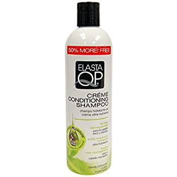 Elasta Qp Creme Conditioning Shampoo for Dry Damaged Hair 12 Ounce