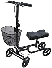 BodyMed Knee Walker – Leg Injury Scooter for Broken Knee & Ankle – Lightweight Foldable Knee Walker for Adults – Wheeled Mobility Caddy for Orthopedic Injuries