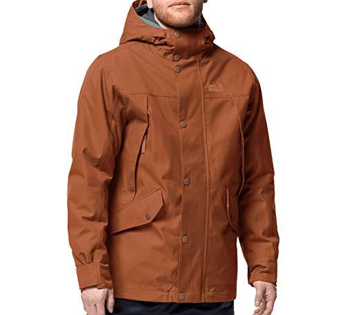 Jack Wolfskin Clifton Hill Jacket, Giacca da Uomo Unisex-Adulto, Rame, XXXL