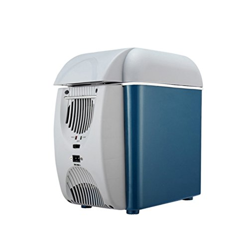 JCOCO Voiture Réfrigérateur 7.5L Voiture Mini Froid Et Chaud Incubateur Réfrigération Réfrigération Mini Réfrigérateur