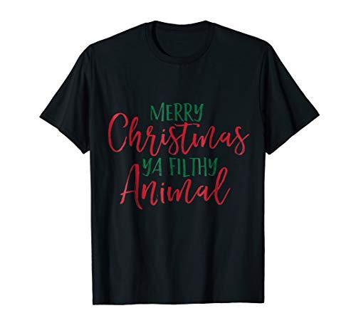 Merry Christmas Ya Filthy Animal; Family Christmas Festive