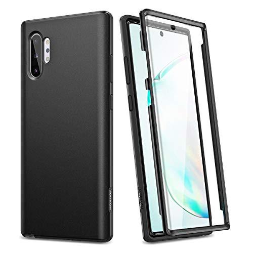 SURITCH Capa protetora para Samsung Galaxy Note 10 Plus / Note 10+ de 6,8 polegadas, com protetor de tela integrado, à prova de impactos, de TPU (poliuretano termoplástico) híbrido macio