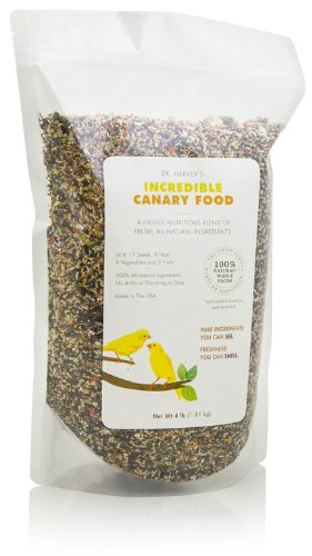 Price comparison product image Dr. Harvey's Incredible Canary Blend,  Natural Food for Canaries (2 pounds)