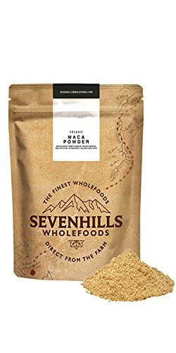 Sevenhills Wholefoods Roh Maca-Pulver Bio 200g