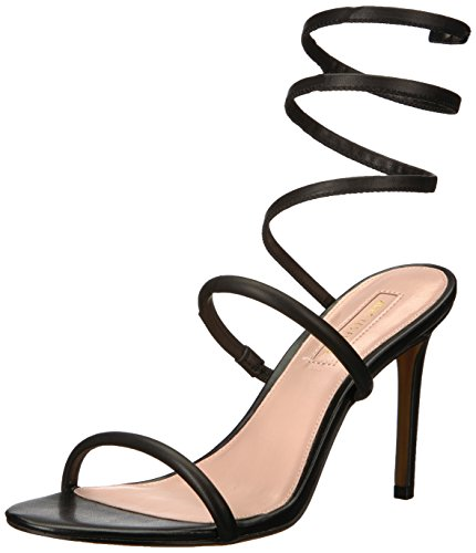 Avec Les Filles Women's JOIA Heeled Sandal, Black, 7.5 Medium US
