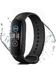 KLiHD Smart Watch,M5 Activity Tracker,Smartwatch Tracker Fitness Orologio Sport Smartband,Contacalorie,Contapassi, Notifiche di Messaggistica,Monitoraggio Frequenza Cardiaca del Sonno e della Salute