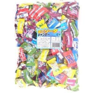 川口製菓 ミニソーダキャンデーアソート 1キロ入り×10袋