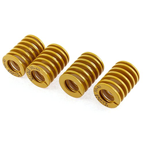 uxcell 4pcs Heavy Load Stamping Compression Mould Die Spring Coil 30mmx40mm