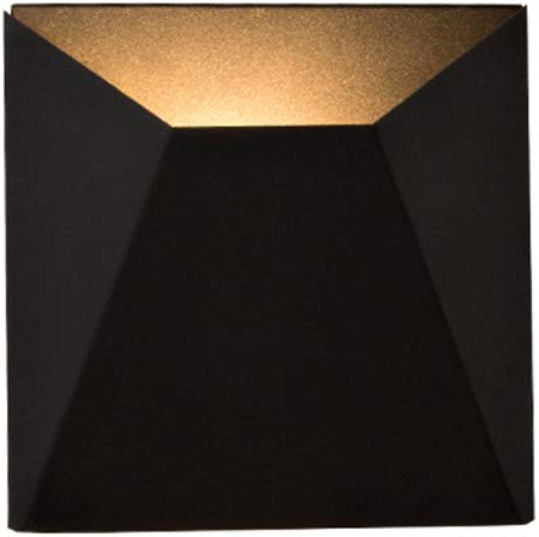 J.SUNUN Wandlampe, moderne minimalistische Wohnzimmer Wand Lampe Nordic Schlafzimmer Wand Lampe Gang Studie Trapezoid Wandleuchte