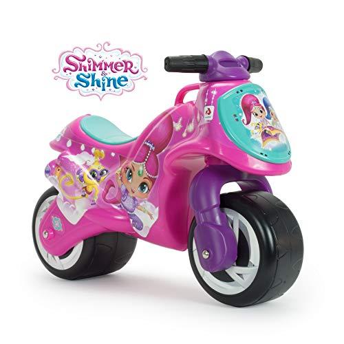 INJUSA - Correpasillos Shimmer & Shine Licenciado Recomendado a Niños +18 Meses con Decoración Permanente e Impermeable