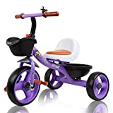 Beehive Toys & Gifts Toddler Trike with Basket and Bell, Tricycle for Kids