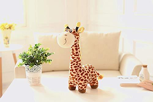 LDBJY Nette Simulation Giraffe Plüschtier Soft Cute Fawn Doll Doll Kindergeschenk 45CM Brown