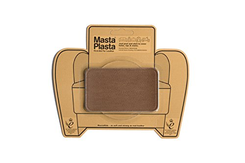 MastaPlasta TAN Self-Adhesive PREMIUM LEATHER REPAIR Patches. Choose Size/Design. First-Aid for Sofas, Car Seats, Handbags, Jackets