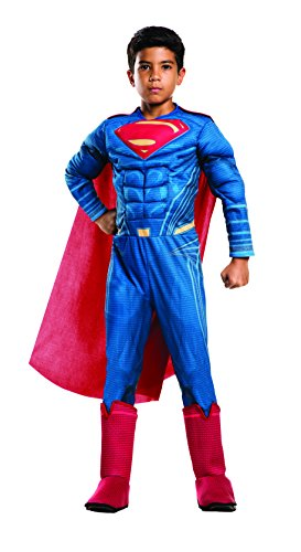 Rubie's Costume: Dawn of Justice Deluxe Muscle Chest Superman Costume, Large