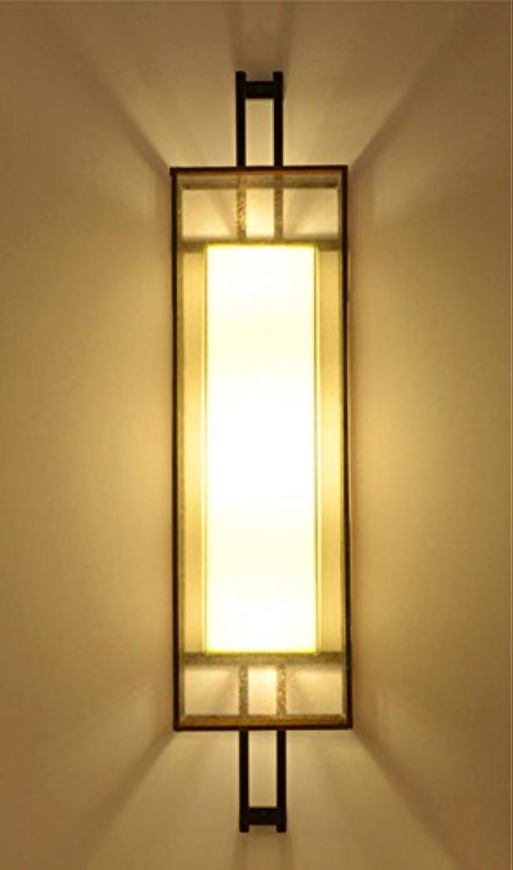 YJ&Lighting Home Antik Loft Lichtgang Retro Wandlampe Wohnzimmer Nacht Schlafzimmer Antik Hotel Hhe 50Cm