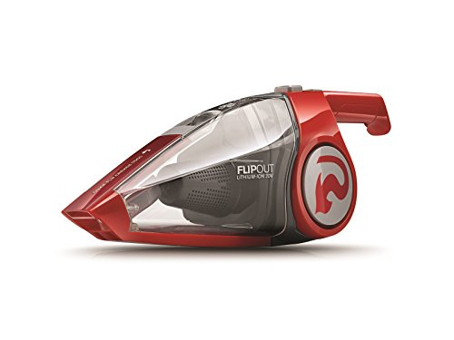 Dirt Devil Flipout Cordless Handheld Vacuum Cleaner, Cord Free Hand Vac, Rechargeable, Small, 20V Lithium, Red, BD10320B