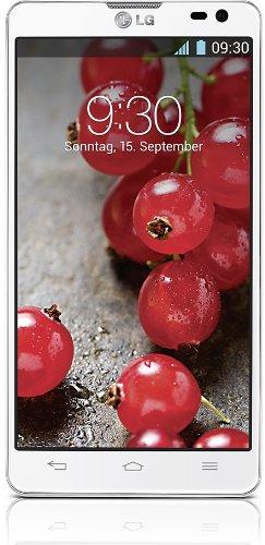 LG D605 Optimus L9II Smartphone (11,9 cm (4,7 Zoll) Touchscreen Display, Dual-Core 1,4GHz Prozessor, 8 Megapixel Kamera, 8GB interner Speicher, 1GB RAM, Android 4.1) weiß