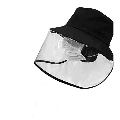 Sombrero Protector, Protector Ocular, antisaliva Anti-Virus, Sombrero de Pescador antiniebla, Sombra Antipolvo para Cara Completa Saliva Antipolvo al Aire Libre, Unisex (1#)