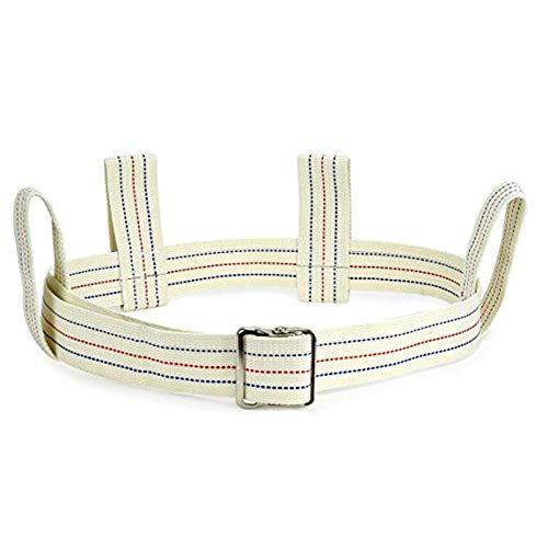 Gait Belt Walking Transfer belt with 4 Loop Handles and Metal Buckle 60'