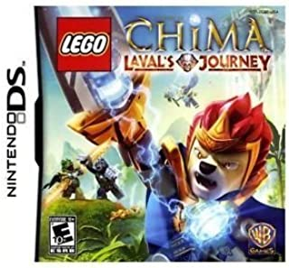 NDS LEGO LEGENDS OF CHIMA LAVA