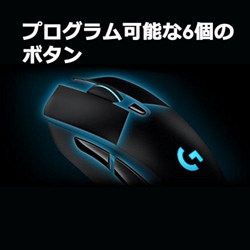『【PUBG JAPAN SERIES 2018推奨ギア】LOGICOOL ロジクール G403 Prodigy ワイヤレスゲーミングマウス G403WL』の9枚目の画像