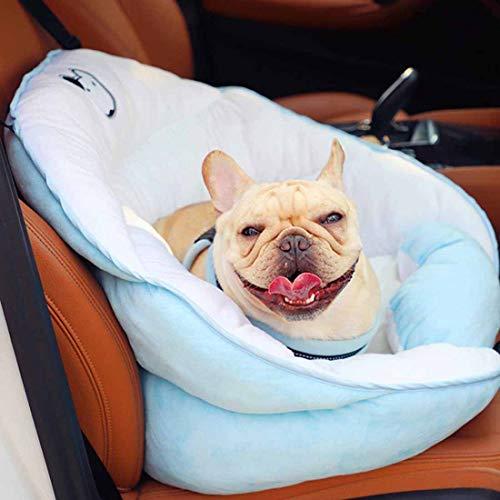 Rzj-njw Huisdier emmer Booster Auto Stoel, Wasbare Reizen Veiligheid Zitzak Hond Bed met Verstelbare Veiligheidsriem voor Puppies En Kleine Honden
