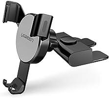 UGREEN uchwyt na telefon z gniazdem CD grawitacyjny uchwyt samochodowy stojak na telefon automatyczny zacisk 360...