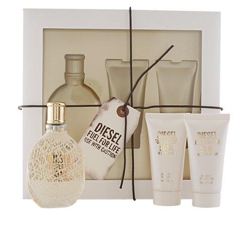 Diesel Fuel for Life for Women Gift set Eau du Parfum–50ml Gel doccia–50ml per il corpo–50ml