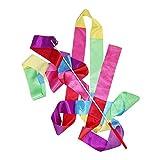 Bailando Serpentinas, La Cinta De Gimnasia Rítmica Danza Streamer 4m Arte De Gimnasia Ballet De Giro De Rod De Navidad para Los Deportes, Color Mezclado