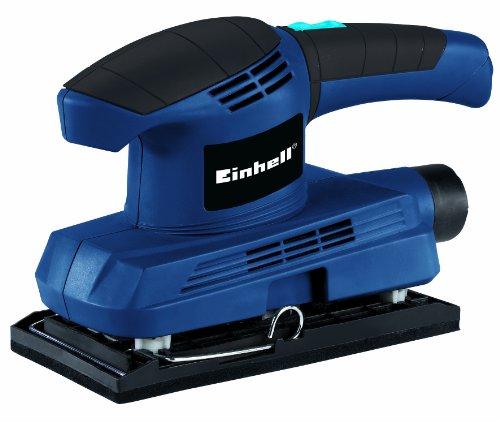 Einhell Schwingschleifer BT-OS 150, 150 W, Schwingzahl 11.500 min-1, Schleiffläche 187 x 90 mm, Staubabsaugung, inkl. Schleifpapier