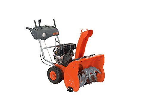 Best snowblower for gravel driveway: YARDMAX YB6770 Two Stage Snow Blower